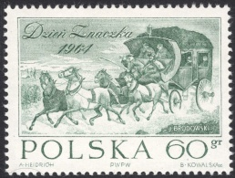 Poland, 60 G. 1964, Sc # 1270, Mi # 1531, MNH. - 1944-.... Republic