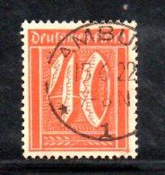 GERMANIA WEIMAR 1922 ,  N. 166   Usato . Fil Griglia - Germania