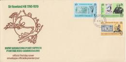 Enveloppe FDC  1er Jour   NOUVELLES  HEBRIDES  Sir  Roland  HILL   1979 - FDC