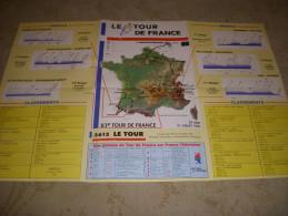 CYCLISME Guide Tour De France 1996 MIROIR INDURAIN CARTE PROFILS PARTANTS - Sport