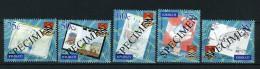 2001 - KIRIBATI - Mi. 846/850 - SPECIMEN - NH - (REG2875.....C) - Kiribati (1979-...)