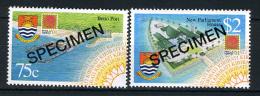 2001 - KIRIBATI - Mi. 851/852 - SPECIMEN - NH - (REG2875.....C) - Kiribati (1979-...)