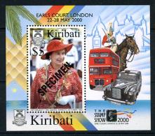 2001 - KIRIBATI - Mi. Block 39 - SPECIMEN - NH - (REG2875.....C) - Kiribati (1979-...)