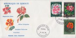 Enveloppe  FDC  1er  Jour    REPUBLIQUE   De   DJIBOUTI    Fleurs    1978 - Djibouti (1977-...)