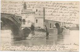 Avignon Le Pont St Benezet Et La Chapelle 1904. - Avignon
