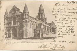Poitiers (Vienne) Eglise Notre Dame La Grande 1901. - Poitiers