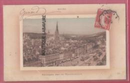 76 - ROUEN--Panorama Pris Du Transbordeur --belle Carte Bateau--colorisée - Rouen