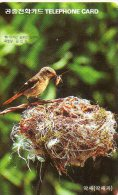 Oiseau Bird Télécarte Phonecard Telefonkarten B216 - Corée Du Sud