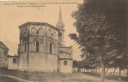 SAINT CHRISTOLY Et Son Abside Romane - France