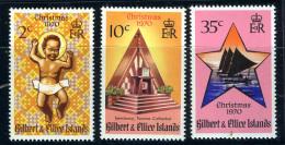 1970 - GILBERT & ELLICE ISLAND  - Mi. 165/167 - NH - (REG2875.....C) - Isole Salomone (1978-...)