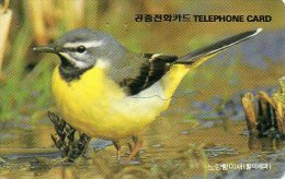 Oiseau Bird Télécarte Phonecard Telefonkarten B217 - Corée Du Sud