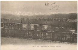 PAU La Chaine Des Pyrenees 1904. - Pau