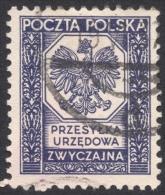 Poland, 25 G. 1935, Sc # O19, Mi # 19, Used. - Officials