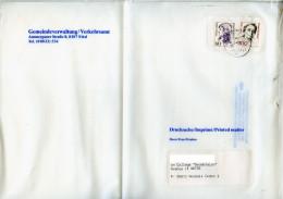 Allemagne,Dorothea Erxleber 60,Therese Giehse 100 Sur Imprimé,drucksache,Ettal  1990 - BRD