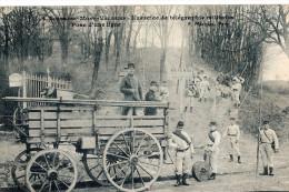 SURESNES. Mont Valérien Exercice Militaire 1912. Animée. - Suresnes