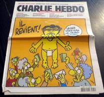Journal CHARLIE HEBDO N° 1084 Du 27 Mars 2013