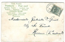 Ambulant  GAND - TOURNAI 2 1908 - 1893-1907 Coat Of Arms
