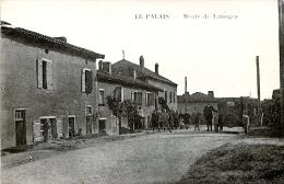 87. HAUTE-VIENNE - LE PALAIS. Route De Limoges. Auto. - France
