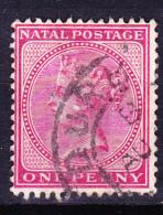 Natal - Königin Viktoria (Mi.Nr.: 45) 1884 - Gest. Used Obl. - Afrique Du Sud (...-1961)