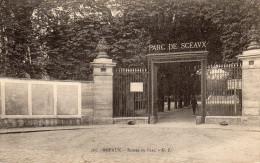CPA SCEAUX - ENTREE DU PARC - Sceaux