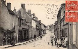 DUN-SUR-AURON RUE DES PONTS ANIMEE - Dun-sur-Auron