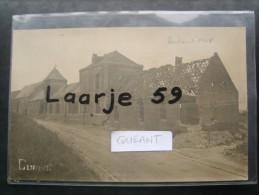 """Quéant  """"carte Photo Allemande"""" - France"""