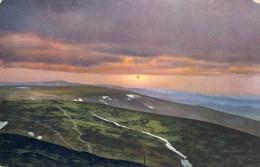 Riesengebirge V. 1932 Sonnenuntergang Von Der Schneekoppe (36010) - Schlesien