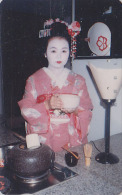 T�l�carte Japon  - GEISHA - Femme Tradition - Japan phonecard girl - Frau Telefonkarte - 2173