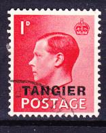Tanger - König Edward VIII. (Mi.Nr.: 12) 1936 - Gest. Used Obl. - Uffici In Marocco / Tangeri (…-1958)