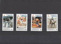 Dominica Nº 1408  Al 1411 - Dominica (1978-...)