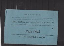 Publicité Papier à Cigarette Dans Une Langue Que Je Ne Connais Pas Certainement Abadie Paris  - Couleur : Bleuatre - Cigarettes - Accessoires