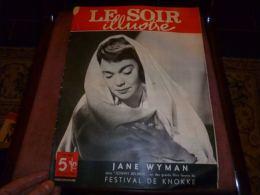 Le Soir Illustré 23 /6/49 Grand Prix Francorchamps Balle Pelote Saint-Servais Braine Le Comte Cyclisme Valère OLLEVIER - Livres, BD, Revues