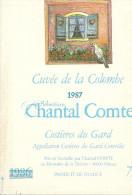 ETIQUETTE DE VIN COLOMBE NIMES COSTIERES - Labels