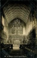 N°492 PPP 347 ST BETOLPHS CHURCH INTERIOR BOSTON - Angleterre