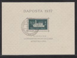DANZIG USED MICHEL 1 & 2 DAPOSTA 1937 - Dantzig