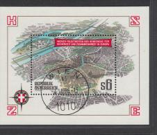 AUSTRIA USED MICHEL BL 8 - Blocs & Feuillets