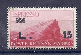 150025150  SAN MARINO  YVERT  T.P.L.E.  Nº   16/7  **/MNH - Pacchi Postali
