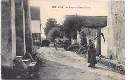 FUBLAINES - Route De Saint Fiacre - Francia