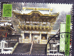 UN Wien Vienna Vienne - Welterbe Japan/World Heritage Japan/Japon Patrimoine Mondial 2001 - Gest. Used Obl. - Usati