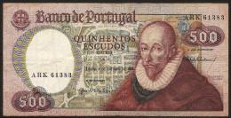 500 Escudos 04/10/1979. Portugal (Francisco Sanches) - Portugal