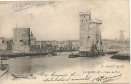 La Rochelle Entree Du Port 1903. - La Rochelle