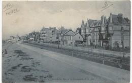 Houlgate Hotel De La Mer Et La Promenade De La Mer 1905. - Houlgate