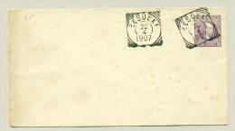 Nederlands Indië - 1907 - 25 Cent Willem III Cover Met VK Besoeki - Nederlands-Indië