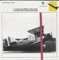 Vliegtuigen. - Armstrong Whitworth Atlas - Jachtbommenwerper.  Groot-Brittannië. - Vervoer