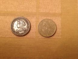VICTORIA DEI GRA BRITT REGINA FID DEF IND IMP - Monedas