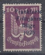 DR Halbamtliche Flugpostmarke Minr.IIa Mit Falz - Luftpost