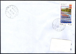 OLD ROWING - ITALIA TORINO FILATELICO 2015 - PALIO DEL GOLFO DELLA SPEZIA - BUSTA VIAGGIATA PIEGATA CENTRALMENTE - Canottaggio