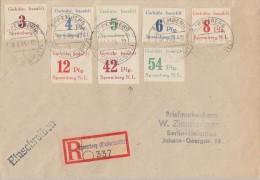 Lokalausgabe Spremberg Mif Minr.7-14 Spremberg 30.3.46 - Sowjetische Zone (SBZ)