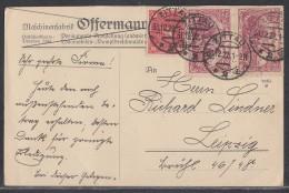 DR Karte Mif Minr.2x 115e,206 Zittau 31.12.22 Geprüft - Deutschland