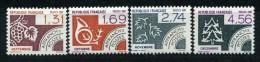 PREO  1987  N° 194 A 197 NEUFS ** - 1964-1988